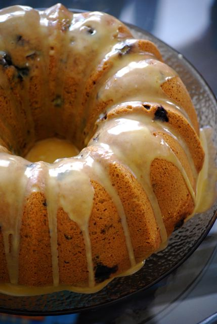 Blueberry Pumpkin Pound Cake