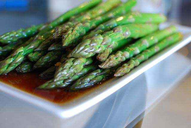 Asparagus in Soy