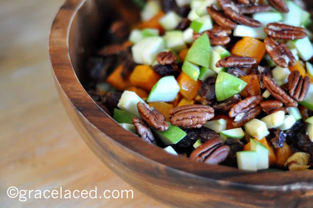 Roasted Autumn Salad