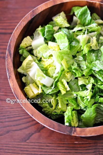 Roasted Corn, Grilled-Tomato Vinaigrette salad