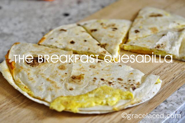 Coming To America and The Breakfast Quesadilla
