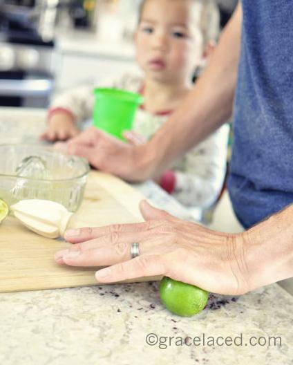 Homemade Cherry Limeade | gracelaced.com